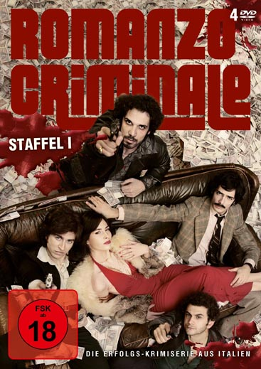 Romanzo Criminale (Staffel 1 – 4 DVDs)