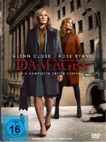 Damages – Im Netz der Macht (Staffel 3, 3 DVDs)