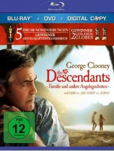 The Descendants – Familie und andere Angelegenheiten (BD + DVD + Digital Copy)