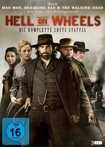 Hell on Wheels (Die komplette erste Staffel – 3 DVDs)