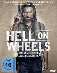 Hell on Wheels (Die komplette zweite Staffel – 3 BDs)