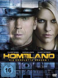 Homeland – Staffel 1 (4 DVDs)