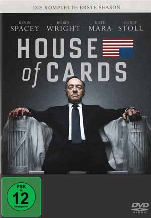 House of Cards (Staffel 1 – 4 Discs)