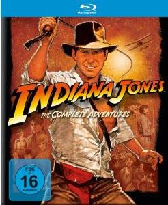 Indiana Jones – The Complete Adventures (Box-Set; 5 Blu-rays)